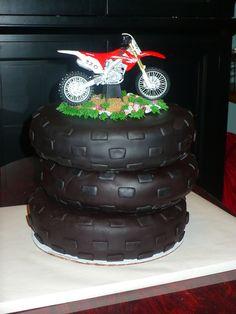 - Dirt bike cake www.twistedsistercakes.com