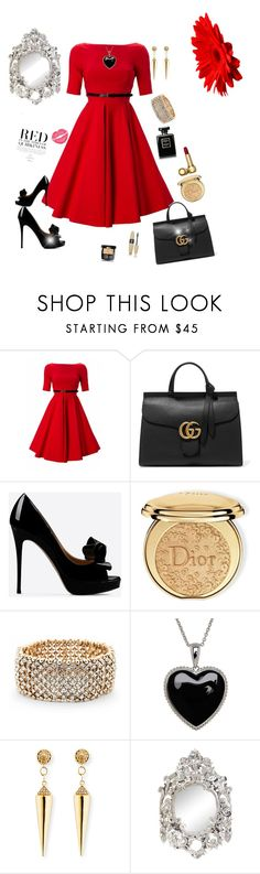 Miss Diva by Diva of Cake featuring mode, Full Circle, Valentino, Gucci, Sole Society, Sydney Evan, Lord & Taylor, Christian Dior, Chanel and Victoria's Secret