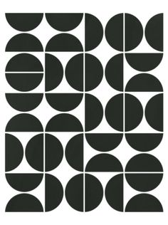 04 Black Poster by theoldartstudio - Mid Century Modern Geometric Print / -Mid Century Modern Geometric 04 Black Poster by theoldartstudio - Mid Century Modern Geometric Print / - Orla Kiely House for Harlequin Acorn Spot Wallp. Geometric Patterns, Geometric Circle, Graphic Patterns, Geometric Designs, Print Patterns, Geometric Prints, Geometric Graphic Design, Abstract Geometric Art, Graphic Design Pattern