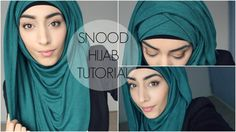HIJAB TUTORIAL | Criss Cross Hijab Style avec un snood