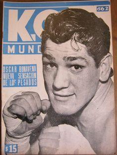 revistas-de-boxeo-ko-mundial-del-numero-637-al-numero-699-257901-MLA20429539341_092015-F Professional Boxing, Boxing History, Boxing Champions, Protective Gloves, Sports Magazine, Combat Sport, Muhammad Ali, Fight Club, Historical Pictures