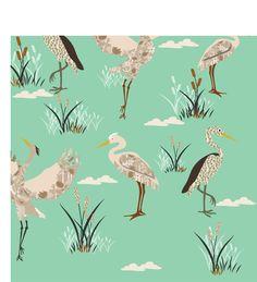customized wallpaper Bird Wallpaper, Big Bird, Birds, Patterns, Animals, Block Prints, Animales, Patrones, Animaux