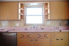 Untouched 1950's Kitchen