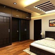 15 Unique Bedroom Furniture Set to Inspire You Wardrobe Design Bedroom, Bedroom Design Inspiration, Beautiful Bedroom Designs, Bedroom Furniture Design, Modern Bedroom Interior, Master Bedrooms Decor, Bedroom Closet Design, Bedroom False Ceiling Design, Ceiling Design Bedroom