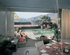 Frey Residence by Albert Frey, Palm Springs, California, photographed in 1956