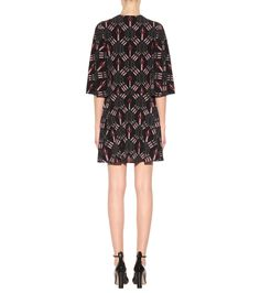 Love Blade Printed Silk Dress - Valentino | mytheresa.com