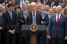 """Since his campaign, President Trump and the Republican Party have pushed hard for a repeal of the Affordable Care Act. Actually saying """"no one dies because they don't have health insurance. Us Health, Health Care, Political Economy, Liberal Politics, Republican Party, Worlds Of Fun, Ny Times, We The People, Obama"""