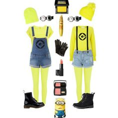 All you need for a halloween costume Minions, Diy Minion Kostüm, Minion Baby, Minion Halloween Costumes, Halloween Diy, Baby Costumes, Costumes For Women, Baby Kostüm, How To Make