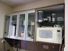 Latest Kitchen Interior Designs by Konceptliving Interior Designers In Hyderabad, Interior Design Kitchen, Bathroom Medicine Cabinet, Kitchen Appliances, Home, Decor, Diy Kitchen Appliances, Home Appliances, Decoration