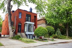 NDG features many diverse types of homes and architecture.