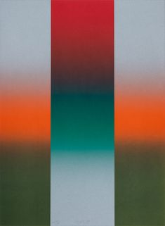 thunderstruck9: Larry Bell (American, b. 1939), Barcelona Series, 1989. Lithograph, 75.8 x 55.9 cm. via cperdrix