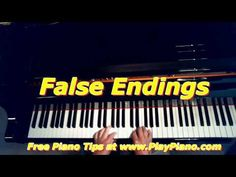 How To Create a Fake Ending To a Song   Piano Lessons for Adults