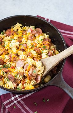 Andouille Sausage And Asparagus Anti Inflammatory Cauliflower Recipes Paleo Gluten Free. Cajun Shrimp And Sausage Vegetable Skillet The Recipe Critic. Cajun Shrimp And Sausage Vegetable Skillet The Recipe Critic. Home and Family Andouille Sausage Pasta Recipe, Aidells Sausage Recipe, Cajun Sausage, Rotini Pasta Recipes, Sausage Pasta Recipes, Casserole Recipes, Rice Casserole, Pesto Pasta, Kitchens