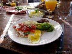 Huevos rancheros for brunch