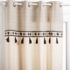 Rustic Curtains, Window Curtains, Interior Styling, Window Treatments, Home Furniture, Cushions, Windows, Boho, House