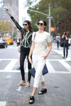 I just reacted to NYFW Street Style Day 5. Check it out! Love the shoes!! Still with those glasses??