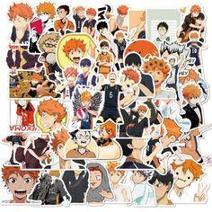 10/30/50 pcs. Anime Volleyball Sticker - 50pcs B