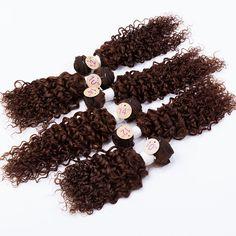 "EVET brazilian virgin hair Kinky curly 6 Bundles 7A Unprocessed 2x10""2x12""2x14"" 200g/Set Cheap Human Hair Weave Extensions Set"