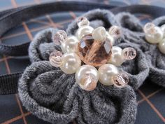 DIY beaded headband by My Craft Affair