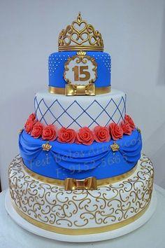 Clique aqui para abrir o álbum: Bolos cenográficos 15 anos - Fest Bolos Cenográficos 15th Birthday Cakes, Birthday Desserts, Birthday Cake Girls, Beautiful Wedding Cakes, Beautiful Cakes, Amazing Cakes, Fondant Cakes, Cupcake Cakes, Surprise Cake