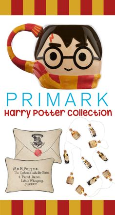 Have you seen the new Harry Potter Collection heading to Primark?! Need it all!