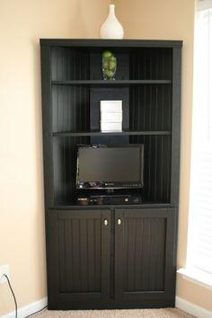 DIY - Corner Storage Cabinet Shelf