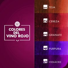 Los tonos del #vino #tinto