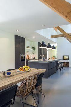 Küchen Inspiration – My Best Decor Kitchen On A Budget, Open Plan Kitchen, New Kitchen, Kitchen Dining, Kitchen Decor, Classic Kitchen, Rustic Kitchen Island, Kitchen Countertops, Kitchen Interior