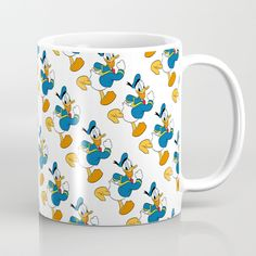 Available in 11 and 15 ounce sizes, our premium ceramic coffee mugs feature wrap-around art and large handles for easy gripping. Dishwasher and microwave safe, these cool coffee mugs will be your new favorite way to consume hot or cold beverages. Cold Drinks, Beverages, Duck Cartoon, Wrap Around, Microwave, Dishwasher, Coffee Mugs, Ceramics, Cool Stuff