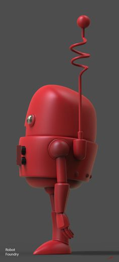 ArtStation - Robot ready for 3d print , Chadwick Dusenbery