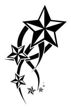 star tattoos!