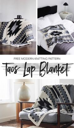 Do It Yourself Houseboat Strategies - Building Your Own Houseboat Free Knitting Pattern - Taos Lap Blanket Pattern By Two Of Wands Afghan Crochet Patterns, Knitting Patterns Free, Free Knitting, Free Pattern, Knitting Ideas, Vest Pattern, Knit Patterns, Knitting Projects, Crochet Projects