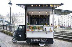 mozzaandco, street food à Paris