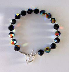 Bracelet - Swarovski Crystals - Sterling Silver