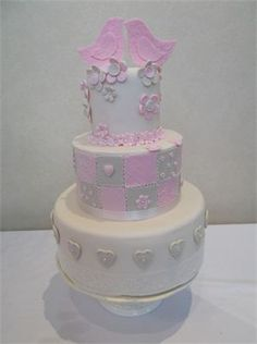 Just Novelty Cakes - Gallery - Wedding Fayre Cakes