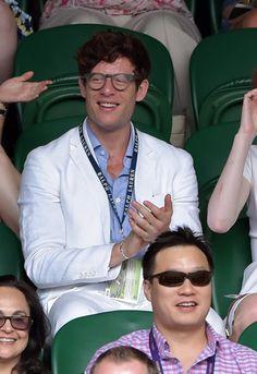 James Norton looking very stylish at Wimbledon. :) (Source)