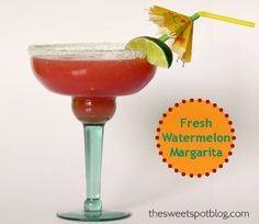 Passion fruit blends perfectly with tequila,and this delicious alcoholic cocktail is a excellent contrast to sweet tamarind. Refreshing Cocktails, Fun Drinks, Yummy Drinks, Alcoholic Drinks, Beverages, Sweet Cocktails, Watermelon Margarita, Margarita Cocktail, Margarita Tequila
