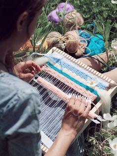 SALE 20% Weaving kit by TextiloveWeaving on Etsy