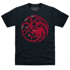 Fire and Blood - words uttered by none other than Game of Thrones' Daenerys Targaryen as she emerges from smoldering ashes accompanied by three dragon hatchlings. This is an officially licensed Game of Thrones product.