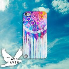 Dreamcatcher Watercolor Drip Bleed Cute Tumblr by TheCaseHaven, $14.99