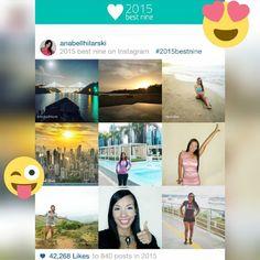 Mis mejores momentos en el Año 2015 Gracias Instagram por el amor que me diste este año.  #bestninephotosof2015 #2015bestnines #instagram
