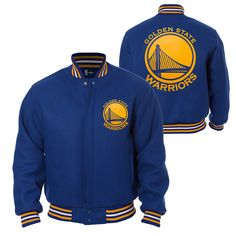 http://www.warriorsteamstore.com/product/Golden_State_Warriors_JH_Design_Team_Color_Logo_All-Wool_Jacket_-_Royal