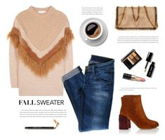 """Fall Sweater"" by yexyka ❤ liked on Polyvore featuring STELLA McCARTNEY, Miu Miu, Bobbi Brown Cosmetics, Hudson Jeans, Estée Lauder and fallsweater"