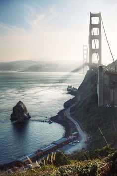 The Golden Gate Bridge, San Francisco, one of the destinations on a number of our rail holidays to the USA Places Around The World, Oh The Places You'll Go, Places To Travel, Places To Visit, Around The Worlds, Puente Golden Gate, Death Valley, Adventure Is Out There, Golden Gate Bridge