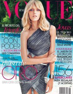Anja Rubik en Vogue México Mayo 2013