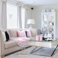 Love this, but with a light grey couch instead!