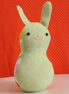 A Wee Bunny. Another adorable free pattern.
