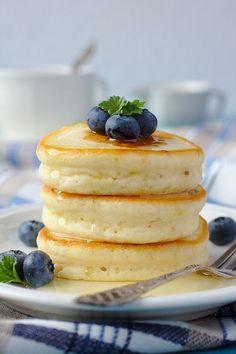 Pancakes japonaises