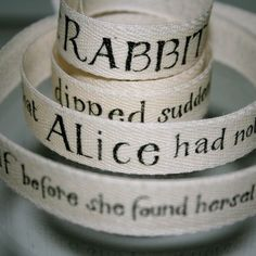 I bought this adorable ribbon at Etsy! It is so wonderful!
