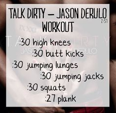 Song workout!